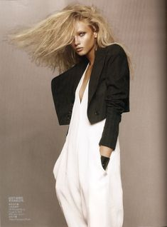 Revolutionary Blazer | Anna Selezneva | Solve Sundsbo #photography | Vogue China March 2010