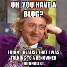 blogging  :O) :O) :O)