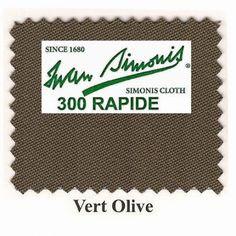 Kit tapis Simonis 300 B220 Vert Olive - 260,00 €  #Jeux