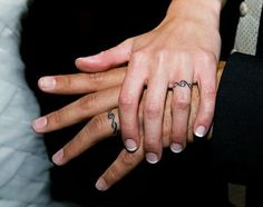 Wedding band tattoos :)
