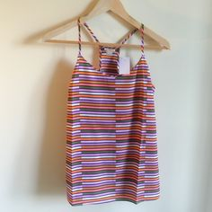 J. CREW RACERBACK New with tags. Size 4. J. Crew Tops