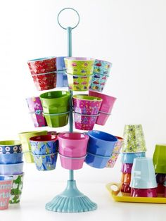 Rice Melamine Cups
