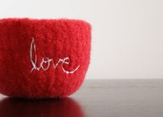 Felted Love.
