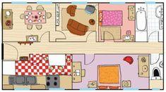 Un jeu online pour travailler le lexique de la maison: on écoute et après on associe l'image et le texte.