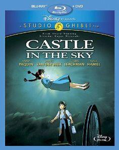 Amazon.com: Castle in the Sky (Two-Disc Blu-ray/DVD Combo): James Van Der Beek, Anna Paquin, Cloris Leachman, Mark Hamill, Mandy Patinkin, H...