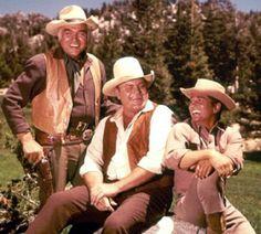 Pa, Hoss and Little Joe on 'Bonanza'