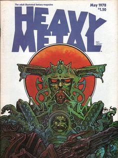 Heavy Metal May 1978 - EphemeraForever.com