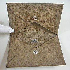 Hermes business card holder office pinterest business card hermes business card case colourmoves