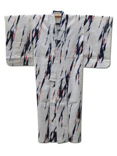 ☆ New Arrival☆ 'Hypnosis' #ladies #Linen & #cotton #vintage #Japanese #kimono from #FujiKimono http://www.fujikimono.co.uk/fabric-japanese/hypnosis.html