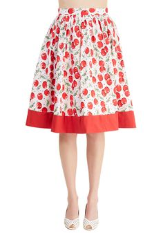 Cherry Turnover Skirt, #ModCloth