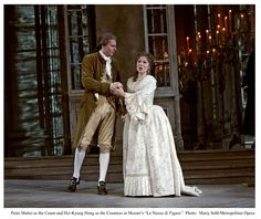 The Marriage of Figaro: The Count and Countess.