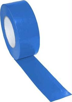 "2"" x 60 Yards Vinyl Tape - Blue"