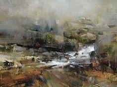 """A Subtle Transition""/ by Tibor Nagy/ (Oil ~ 12 x 16)"