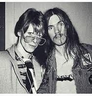 1970s Bowie & Lemmy - sadly a fake pic!