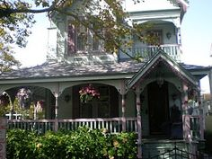 The restored painted lady home in Cape May where Caroline's mother and Rebecca live.