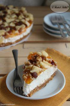 Cheesecake allo strudel