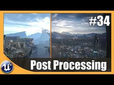 Unreal Engine 4 Beginner Tutorial Series - #34 Post Processing - YouTube
