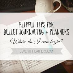 Hot tips for bullet journaling beginners!