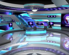 3d Virtual Studio Design Render . on Behance