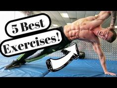 Best V-Cut Abs Exercises (At Home!) - YouTube