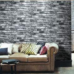 Moderno muro di mattoni di carta 3d sfondi mattone antico personalità ristorante…