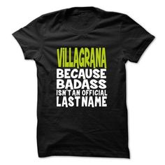 Awesome Tee VILLAGRANA BadAss T shirts