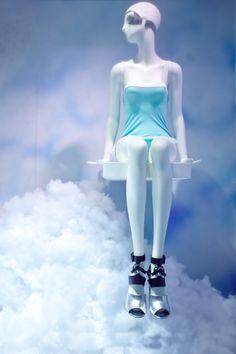 """Harrods London,""""Sitting on cloud 9"""", pinned by Ton van der Veer"""