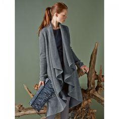 Manteau maille n°113 de Burda Style Octobre 2014