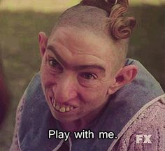 """It takes almost three hours for actress Naomi Grossman to get into her Pepper makeup. 