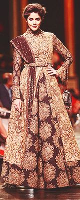"""likeanewday: """" → LFW A/W 2013: Sabyasachi ; Favorite outfit. """""""