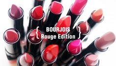 Bourjois rouge edition.  Mas de cuarenta colores de pinta labios