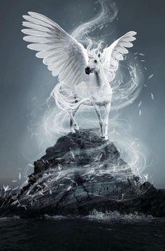 Pegasus By Artist Unknown...