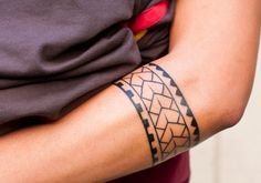 tattoo solid armband - Google Search