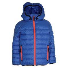 Koboltblå drenge vinterjakke fra Molo Nylon jakkke med syntetisk dun fyld