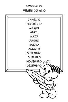 Portal do Professor - Sensibilização às línguas estrangeiras: os meses do ano