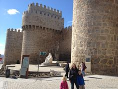 At the Walls of Avila, Spain From TheBarefootNomad.com