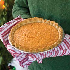 Hands down the best sweet potatoe pie recipe in the world! Can't beat Southern cooking!  Sweet Potato-Buttermilk Pie | MyRecipes.com