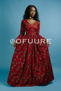 the TEMI dress end of year clearance by ofuure on Etsy Long African Dresses, Latest African Fashion Dresses, African Print Fashion, Africa Fashion, Chitenge Dresses, African Traditional Dresses, Formal Dresses For Weddings, African Attire, Ankara