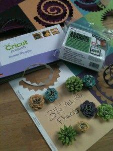 Flower Shoppe #Cricut