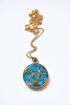 Image result for gold leaf resin jewellery
