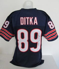 00bd7ee31f55 Ditka Signed Jersey HOF Inscription JSA Authentication only  109 ON SALE!  This week only!