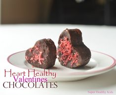heart healthy chocolates for kids- Super Healthy Kids