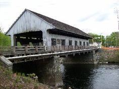 Covered bridge - Pepperell, MA-Where I grew up and lived until I left home at 18. Wonderful memories.