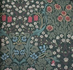 Charles Rupert Designs specializes in exclusive historic reproduction wallpaper and fabric. Collections feature William Morris, Bruce Talbert, Victorian and Arts & Crafts re-issued designs in eco-friendly printings. William Morris Wallpaper, William Morris Art, Morris Wallpapers, Art Nouveau, Art Deco, Textiles, Textile Patterns, Fabric Wallpaper, Of Wallpaper