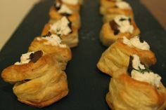 The Simple Treat: Mushroom Tartlets with Garlic & Thyme Goat Cheese