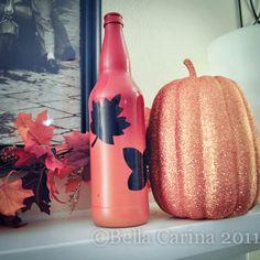 Autumn bottle