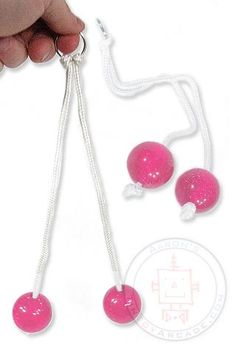 Clackers -- I loved these things back in the 1970's. We called them klick klacks.
