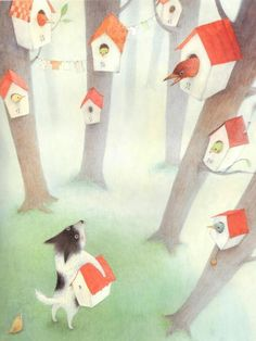 Ayano Imai - The Society of Childrens Book Writers and Illustrators - SCBWI… Sketch Inspiration, Children's Picture Books, Art Wall Kids, Children's Book Illustration, Whimsical Art, Kawaii, Illustrations Posters, Childrens Books, Drawings