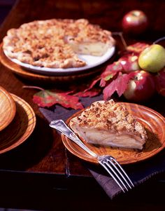 Apple-Cheddar Crumble Pie marries two favorite New England foods with delicious results.