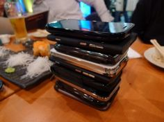 Phone Stack! A game to play with friends. No more cellphone conversation interruptions.